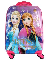 Чемодан детский Atma kids Frozen, Sisters are magic, 44 см